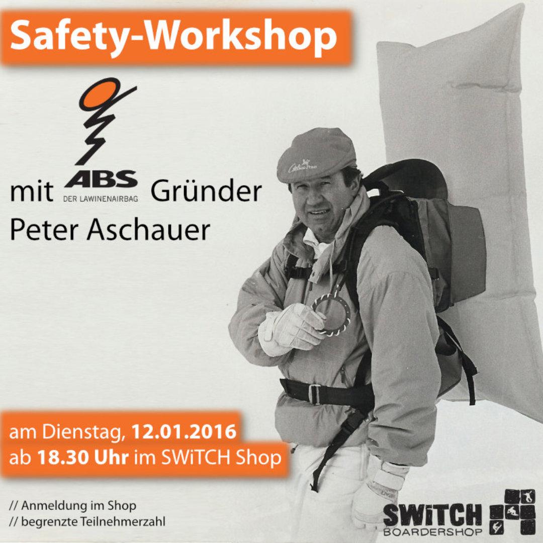 kostenloser ABS Lawinen Workshop
